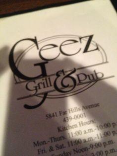 Geez Grill & Pub in Dayton, OH