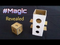 #Revealed   New cardboard Magic   how to make - YouTube Magic Tricks Videos, Magic Tricks Illusions, Butterfly Painting, Steampunk Diy, Youtube, Magic Tricks Revealed, Clowns, Pictures, Wizards