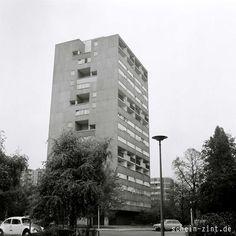 Das Hansaviertel, Pilgerstätte für viele Architekturstudenten (Architekten: van den Broek, Jacob Bakema) #hansaviertel #berlin #70er