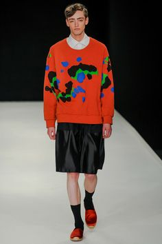 E. Tautz Spring 2014 Menswear Collection Slideshow on Style.com