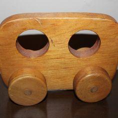 Handmade wooden car
