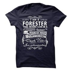 I am a Forester - #gifts for guys #gift for friends. PURCHASE NOW => https://www.sunfrog.com/LifeStyle/I-am-a-Forester-18729828-Guys.html?68278
