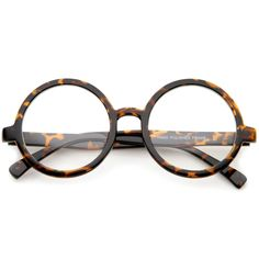 67ed05834b Retro Round Spectacles Clear Lens Glasses 8034