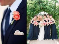 casamento decoração branco azul marinho - Pesquisa Google