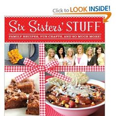 Six Sisters' Stuff: Family Recipes, Fun Crafts, and So Much More by Six Sisters' Stuff. $13.00. Series - Six Sisters' Stuff. Publisher: Shadow Mountain (March 4, 2013). Publication: March 4, 2013