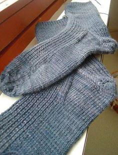 Ravelry: Railway Blues Socks pattern by Pirita Hiltunen