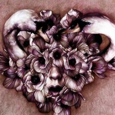 Beautiful Italian master of coloured pencil Marco Mazzoni