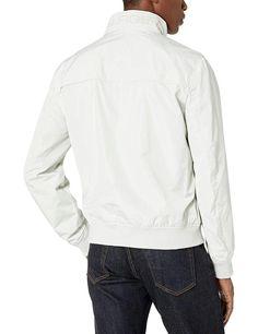 Tommy Hilfiger Men's Performance Faux Memory Bomber Jacket - Soomro Lambskin Leather Jacket, Faux Leather Jackets, Leather Men, Windbreaker Jacket, Bomber Jacket, Mens Essentials, Tommy Hilfiger, Bomber Jackets