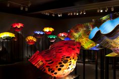 Chihuly Macchia Forest, 2013, Montreal Museum of Fine Arts
