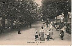 The Terrace Richmond Surrey, Richmond London, Richmond Upon Thames, Vintage London, Old London, Old Photos, Worlds Largest, Terrace, Places To Visit