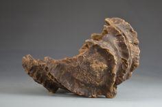 "Bonsai Pot, Primitive Scoop, 8 ½"" - 13590 - Iker Bonsai Pottery"