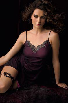 Catrinel Menghia for Lise Charmel Lingerie love the 'masqurade' mask garter