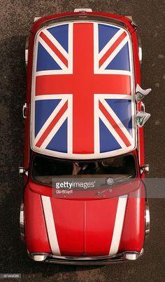 The Union Jack Mini Cooper