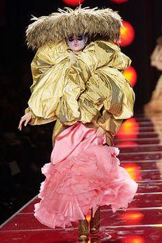 Christian Dior Spring 2003 Couture Fashion Show - Katerena Alkhimova, John Galliano