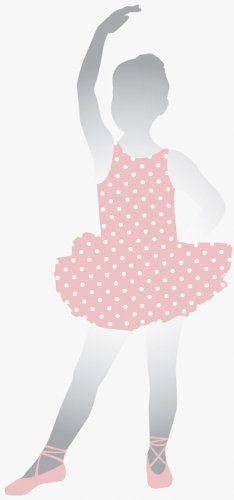 """Ballet Peel & Stick Mirror by Roommates. $50.99. Quick Ship15.3""""W x 44.8""""HDelight your little girl with this large mirror of a pretty ballerina. This fun piece of wall decor functions both as a wall sticker and a mirror, allowing your little one to admire her dance routine in the mirrored pieces of the ballerina's head, arms, and legs. You'll love the way this adorable design shines on the wall! Made of acrylic mirror. Place these playful wall mirrors on any non-te..."""