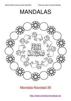 Nuevos Mandalas Navideños con diplomas y fichas de recompensa | Orientacion Andujar