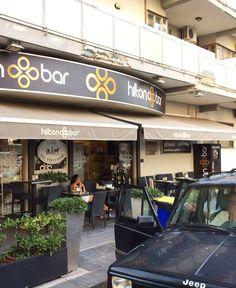 Bar Hilton (4 foto) Insegna, allestimento e wrapping. A cura di Santorografica Salerno http://www.santorografica.com/