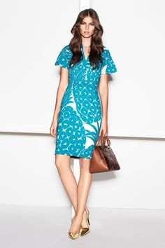 Oversized Pineapple print. NICE  Escada Spring 2014 Ready-to-Wear Collection Slideshow on Style.com
