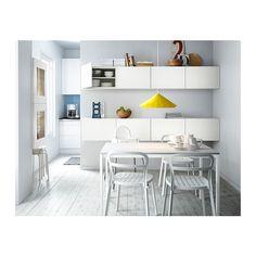 REIDAR Stuhl IKEA Stuhl ist komplett aus Aluminium gefertigt und kann so das ganze Jahr über draußen stehen.