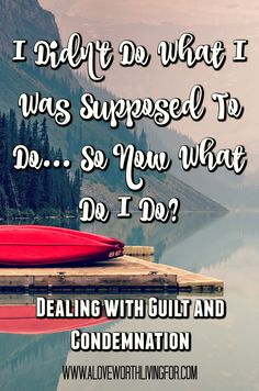 I didn't do what I was supposed to do, so now what do I do? Here is some advice…