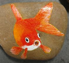 Pebble Painting, Pebble Art, Stone Painting, Rock Painting, Crafts Cheap, Crafts To Do, Hand Painted Rocks, Painted Stones, Pebble Pictures