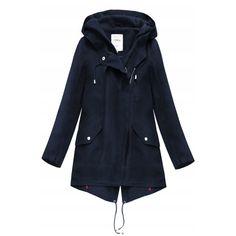 Parka, Raincoat, Navy Blue, Model, Jackets, Stuff To Buy, Shirts, Clothes, Kleding