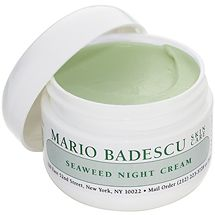 Seaweed Night Cream from Mario Badescu Skin Care via mariobadescu.com