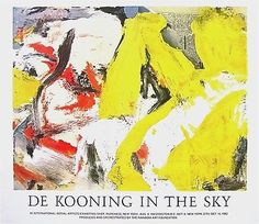 WILLEM DE KOONING (1904-1997) One of the most recognized masters of abstract expressionism, was a founder of the New York School of action painting. Along with Jackson Pollock, he became a key figure