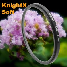 KnightX Soft Focus Effect Diffuser Lens Filter For Sony Canon Nikon 52mm 58mm 67mm Lens SLR camera t3i t5i T5 700d d5500 750d