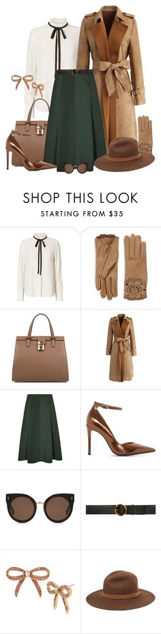 """""""Enchanted"""" by spells-and-skulls ❤ liked on Polyvore featuring Frame Denim, Burberry, Dolce&Gabbana, Chicwish, Reiss, Dune, STELLA McCARTNEY, Betsey Johnson, rag & bone and suedecoat"""