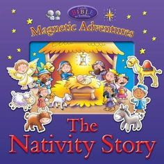 Nativity Story-Magnetic Adventures Board Book