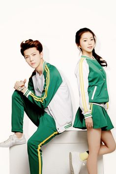 Sehun <3 Irene for  Ivy Club ............ ..Haha haters gonna hate