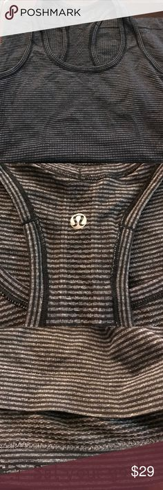 Lululemon Swifty Tanktop Size 4. Hardly wore this so in great, like new condition. Pulled rip tag off lululemon athletica Tops Tank Tops