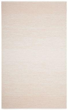 Montauk Beige / Ivory 6 Feet X 9 Feet Area Rug