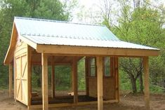 Considering a garden shed? Thinking about building it yourself? Then before you embark on your project make sure you have a reliable shed plan for the design you have in mind. Building your own shed can without doubt cut costs but Garage Shed, Barn Garage, Barn Plans, Shed Plans, House Plans, Shed Images, Pergola, Small Barns, Barns Sheds
