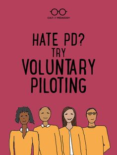 Try Voluntary Piloting Hate PD? Try Voluntary Piloting. – This teacher-led model for professional development is a formula for deep, reflective learning and long-lasting change. Read how one group of teachers did it. Leadership Activities, Leadership Coaching, Educational Leadership, Teaching Strategies, Coaching Quotes, Leadership Qualities, Leadership Development, Teaching Ideas, Reflective Learning