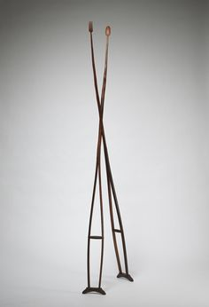 """Katie Dell Kaufman, """"A Recognition of Frailties"""", Found object sculpture, 2012"""