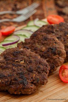 Kebab burgers - Gekruid gehakt op z'n Arabisch.