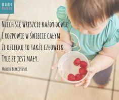 Najpiękniejsze cytaty o dzieciach - Mamy-mamom.pl Motto, Dog Bowls, Mottos