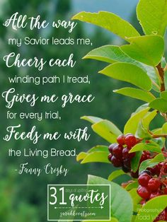 """Quote 1. Fanny Crosby on Faith: 7 quotes in 7 days. Fanny is often remembered as """"the most prolific and significant writer of gospel songs in American History, """" but there is so much more to the story. #write31days"""