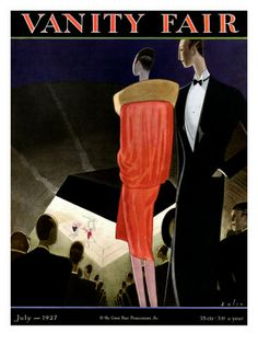 The issue of Vanity Fair that came out in July 1927, which is when NICE WORK IF YOU CAN GET IT takes place.