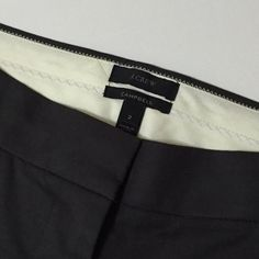 """J.Crew """"Campbell"""" Trousers J.Crew Campbell Trousers in a dark grey. The color has a tinge of dark green to it. Great condition J. Crew Pants Trousers"""