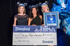 Literacy Project Foundation Surprised with $60,000 in Next Chapter of Disneyland Resort Million Dollar Dazzle