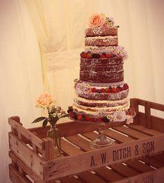 Victoria sponge style wedding cake | Flickr - Photo Sharing!