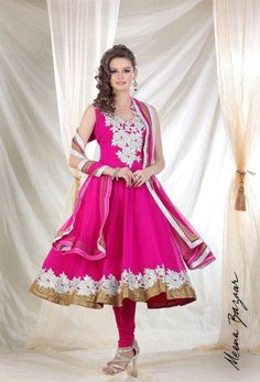 Meena Bazar Latest Party Wear Dresses Collection 2012-13 For Ladies