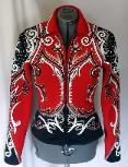 Gorgeous detail and you just got to love the red and black (wish I could wear it still)  http://www.showmanshipathalter.com