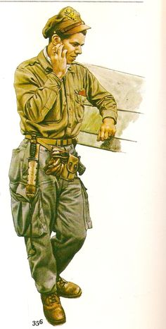Pilot, USF, 1944. Military Army, Military History, Japanese Art Samurai, Pilot Uniform, Ww2 Uniforms, Army Soldier, American War, Aviation Art, World War Two