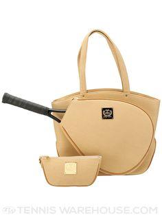 4697c6ba20 Court Couture Cassanova Pebble  Tennis Bag (Cafe au Lait)