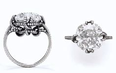Diamond Thread Ring by JAR from the collection of Ellen Barkin Danielle made me love this!!!