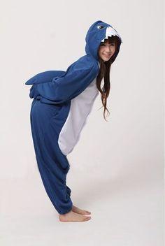 KIGURUMI Shark Onesie...must have one of these!!!